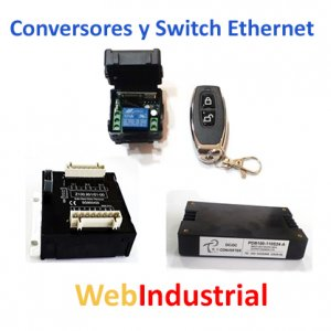 Conversores y Switch Ethernet