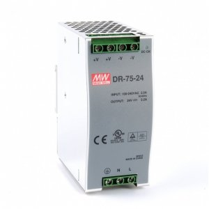 DIN Rail Power Supply 75W 24VDC 3.2A