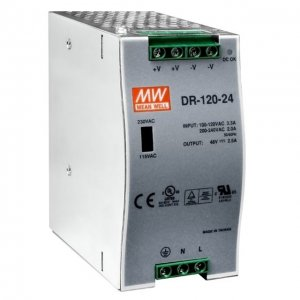 DIN Rail Power Supply 120W 24VDC 5A