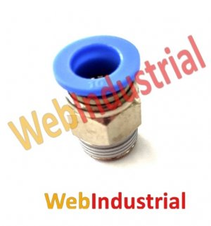 "WEB INDUSTRIAL - AIRTAC - PC10-03 racord recto 3/8"", Ø 10mm"