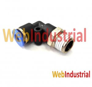 "WEB INDUSTRIAL - AIRTAC - PL06-02 racord codo 1/4"", Ø 6mm"