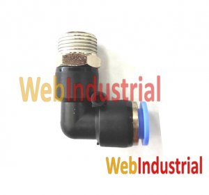 "WEB INDUSTRIAL - AIRTAC - PL10-03 racord codo 3/8"", Ø 10mm"